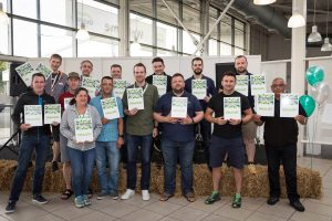 Finalists in the UK Outdoor Industry Awards at the Outdoor Trade Show held at Stoneleight, Warwickshire