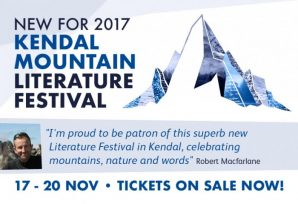 KENDAL MOUNTAIN FESTIVAL ANNOUNCE NEW LITERATURE OFFERING; A PLACE FOR ADVENTUROUS IMAGINATION