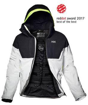 Helly Hansen's Icon Jacket wins Red Dot: Best of the Best Award 2017